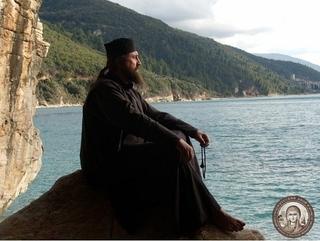 Монах на Афоні