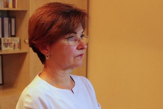 Заступниця головлікаря Рівненськоої обласної клінічної лікарні Лариса Обуховська