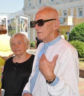 Подружжя відомих Просвітян м. Рівне -- Євгенія Гладунова та Михайло Борейко