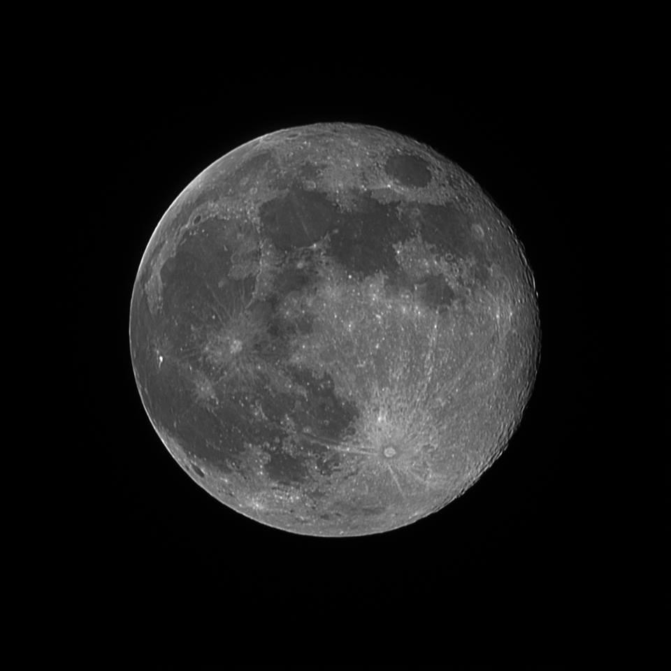 Фото Олексія Семчука (Місяць над Рівним, учора)
