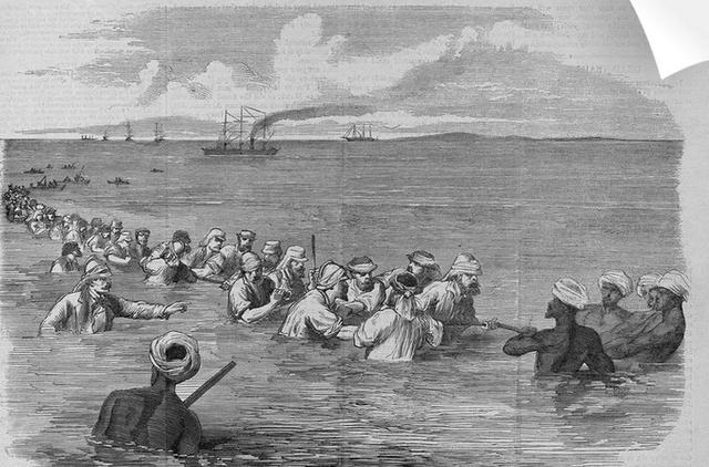 1865 рік. Тягнуть по дну затоки телеграфний кабель біля берегів Персії. До Калькутти вже рукою подати.