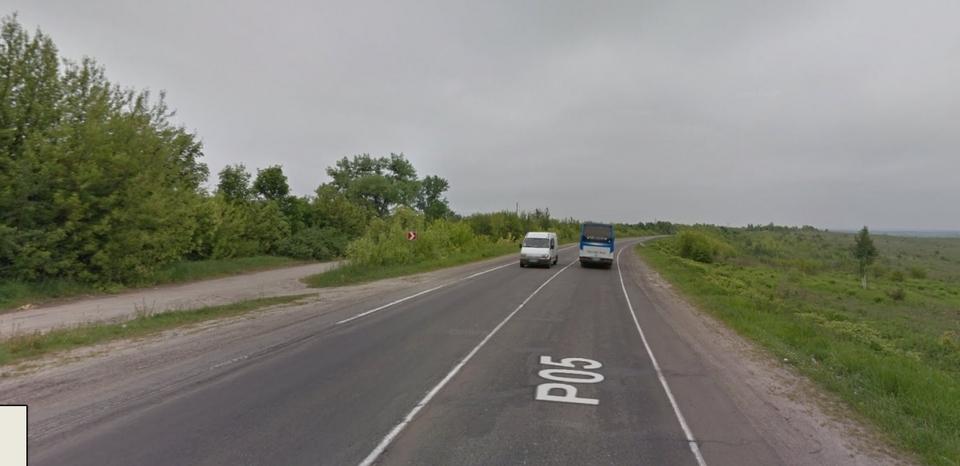 Приблизно на цій ділянці побудують двосторонню розв'язку. Google Maps